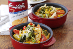 Cheese and Vegetable Casserole