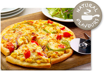 Vegetarian Pizza recipe using Campbell's Soup