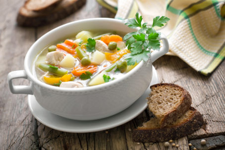 campbells chicken and vegetable soup