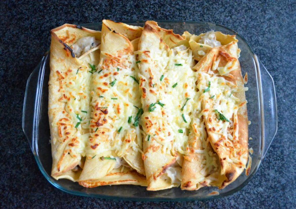 Jade Dawson's Savoury Pancakes for Meal Prep