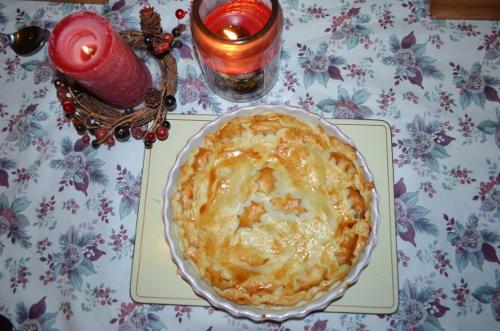 Christmas leftovers pie
