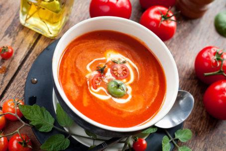 summer tomato soup recipe