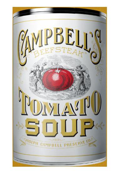 Campbell's original soup can design