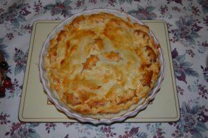 Simple Festive Leftover Pie