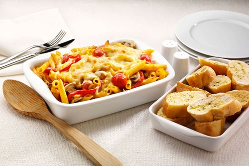 Pasta, Cheese & Vegetable Bake