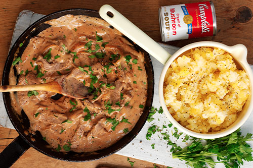 Beef Stroganoff Recipe Campbell S Soup Uk